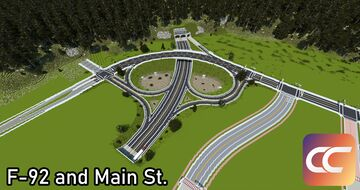 F92 and Main St | By: Sami3t, Travis, and Zom | CCS Minecraft Map & Project