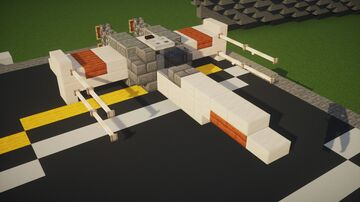 1:1 Scale T-65 X-Wing Minecraft Map & Project