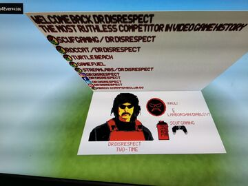 Minecraft project to DR Disrespect Minecraft Map & Project