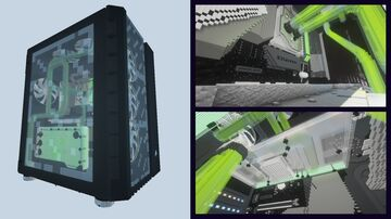 Minecraft PC for Gronkh / Caseking contest - Entry by Comper [DOWNLOAD] Minecraft Map & Project