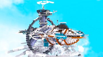 SpaceShip Minecraft Map & Project