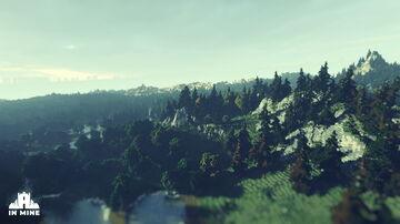 RPG adventure island - WorldPainter [3000x3000] Minecraft Map & Project