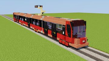 Skoda 29T ForCity Plus Minecraft Map & Project