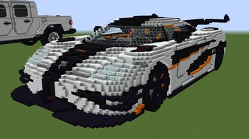 Koenigsegg One:1 Minecraft Map & Project