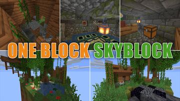 One Block Skyblock | How Many Secrets Can a Single Block Hide? Minecraft Map & Project