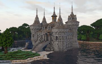 Boldt Castle Minecraft Map & Project