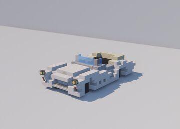 Austin Healey 3000 MK3 Minecraft Map & Project