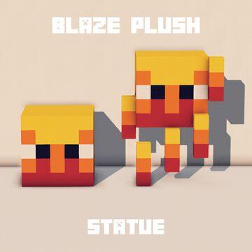 Blaze Statue Decoration Minecraft Map & Project