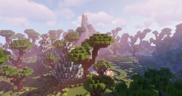 Professional Flying Island Map (skywars/skybloc/other) Minecraft Map & Project