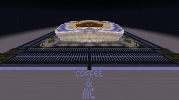 Custom Stadium Minecraft Map & Project