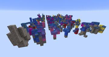 Coral schematics Minecraft Map & Project