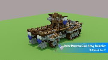 Melar Mountain Guild: Heavy Trebuchet Minecraft Map & Project