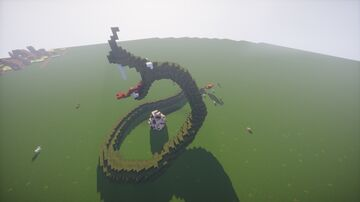 Giant Mother-Python Minecraft Map & Project