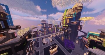 Sci-Fi Lobby (+download) Minecraft Map & Project