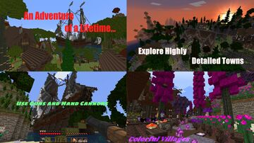 An Adventure of a Lifetime.. A fully voiced adventure Minecraft Map & Project