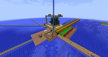 Water Dome Base Minecraft Map & Project
