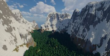 Ancient Forested Valley Minecraft Map & Project