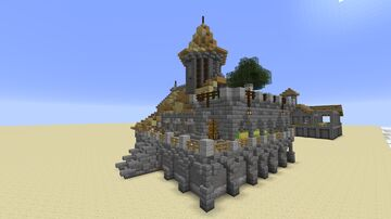 Simple survival house from 0 to hero Minecraft Map & Project