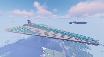 Acclamator class assault ship (Custom version) [Star wars Clone wars] Minecraft Map & Project