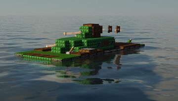 LVT (A)-1 Minecraft Map & Project