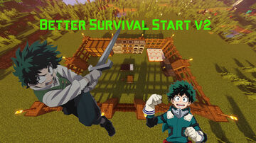 Better Survival Start V2 Minecraft Map & Project