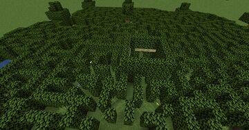 Ultimate Bush Maze Minecraft Map & Project