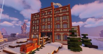 Cookie Factory Minecraft Map & Project