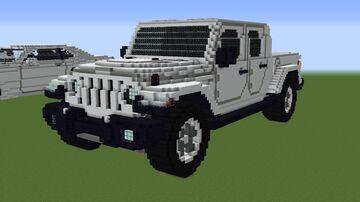 Jeep Gladiator Minecraft Map & Project