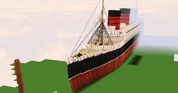 RMS Queen Mary Minecraft Map & Project