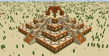 Pyramid Minecraft Map & Project