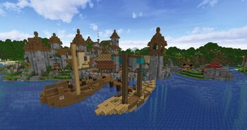 Taernsby Minecraft Map & Project
