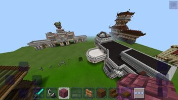 My map in MCPE Minecraft Map & Project
