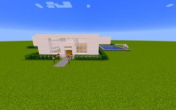 Modern Villa Minecraft Map & Project