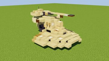 Armored Assault Tank Minecraft Map & Project