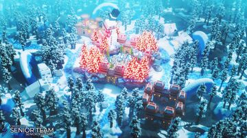 Snow Forest Spawn Minecraft Map & Project