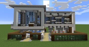 1x2 House Minecraft Map & Project