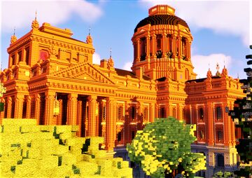 Brick Capitol Building Minecraft Map & Project