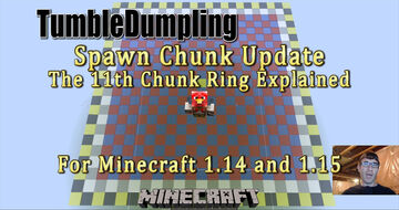 Spawn Chunk Update for Minecraft 1.15.x and 1.14.x Minecraft Map & Project