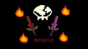 Boss Battles: Game Crossover Minecraft Map & Project