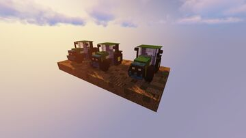 John Deere Tractor Pack Minecraft Map & Project