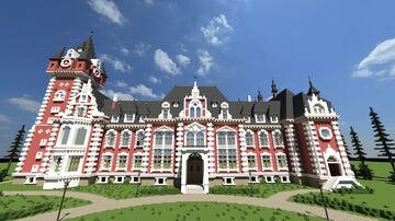 Plawniowice palace - Poland castle Minecraft Map & Project