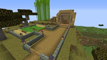 Hobbit Hole House (UPGRADED) Minecraft Map & Project