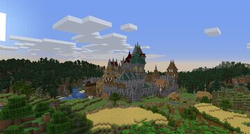 Medieval world of Masewitz Minecraft Map & Project