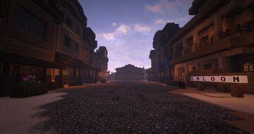 Wild West Village | Nations at War Minecraft Map & Project