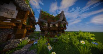 Medium Steampunk House [Schematic] Minecraft Map & Project