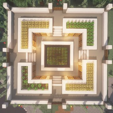 Modern Survival Farm Base [Free Download] Minecraft Map & Project