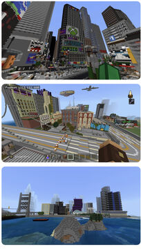 Great Cities Minecraft Map & Project