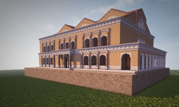 Building Rome with Conquest Reforged, Basilica of Maxentius Minecraft Map & Project