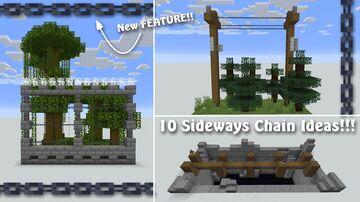Sideways Chain Ideas!!! Minecraft Map & Project