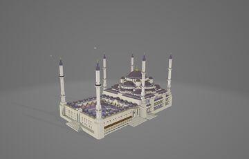 Sultan Ahmet Camii (Blue Mosque) Minecraft Map & Project